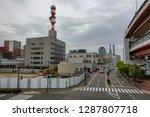 kobe japan april 17  people... | Shutterstock . vector #1287807718