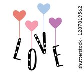 Color Heart Pearl Black Text...