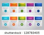web user interface elements....
