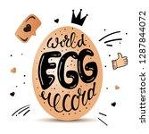 lettering artwork illustrating... | Shutterstock .eps vector #1287844072