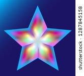 unusual modern vector... | Shutterstock .eps vector #1287845158