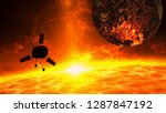 sun and exoplanet exploration... | Shutterstock . vector #1287847192
