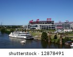 Showboat Docked At Downtown...