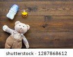 craft toys for kids. handmade...   Shutterstock . vector #1287868612