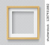 photo realistic square wood... | Shutterstock .eps vector #1287931882