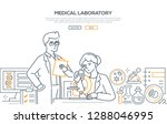 medical laboratory   modern... | Shutterstock .eps vector #1288046995