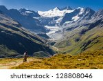 grimentz  switzerland       ... | Shutterstock . vector #128808046