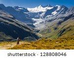 grimentz  switzerland       ... | Shutterstock . vector #128808046