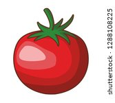 tomato isolated icon | Shutterstock .eps vector #1288108225