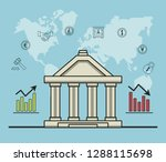 finance and trading cartoon | Shutterstock .eps vector #1288115698