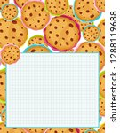 vector printing paper note ... | Shutterstock .eps vector #1288119688