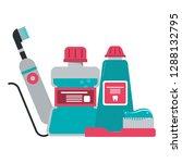 medical dental treatment | Shutterstock .eps vector #1288132795