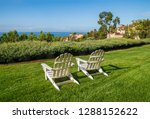 group of two white adirondack... | Shutterstock . vector #1288152622