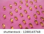 many transparent pills omega 3... | Shutterstock . vector #1288165768