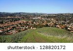 view of the suburbs from a... | Shutterstock . vector #128820172