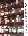 vintage medical bottles | Shutterstock . vector #1288211548