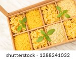open box with different types...   Shutterstock . vector #1288241032