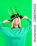 Saint Patrick's Day. Happy Gir...