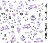 light purple vector seamless... | Shutterstock .eps vector #1288313602
