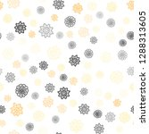 light yellow vector seamless... | Shutterstock .eps vector #1288313605