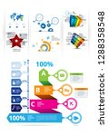 infographic vector elements for ... | Shutterstock .eps vector #1288358548