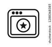 application favorite icon   Shutterstock .eps vector #1288368385