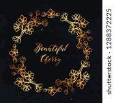 beautiful cherry  vector... | Shutterstock .eps vector #1288372225