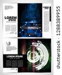printing magazine  brochure... | Shutterstock .eps vector #1288389955