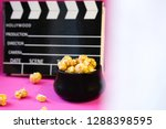 top view close up black... | Shutterstock . vector #1288398595