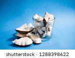 close up raw fresh coconut... | Shutterstock . vector #1288398622