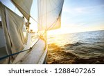 view from a deck of a tilted... | Shutterstock . vector #1288407265