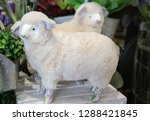 Stuffed Sheep With Cute Face...