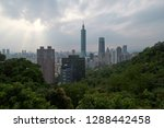 taipei city is the capital and... | Shutterstock . vector #1288442458
