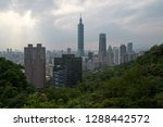 taipei city is the capital and... | Shutterstock . vector #1288442572