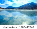 the lake of a specular surface  ...   Shutterstock . vector #1288447348