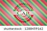 car  christmas colors style... | Shutterstock .eps vector #1288459162