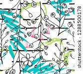 tropical  stripe  animal motif. ...   Shutterstock .eps vector #1288500178