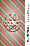 good business christmas emblem. | Shutterstock .eps vector #1288541188