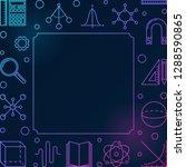 science  technology ... | Shutterstock .eps vector #1288590865