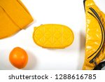 bag and other yellow objects...   Shutterstock . vector #1288616785