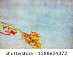 streamers for postcard and... | Shutterstock . vector #1288624372