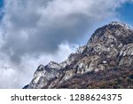mountain and cloudy sky | Shutterstock . vector #1288624375