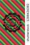 squat christmas style emblem. | Shutterstock .eps vector #1288626382