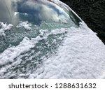 frozen snow on car in...   Shutterstock . vector #1288631632