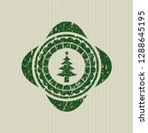 green christmas tree icon... | Shutterstock .eps vector #1288645195