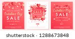 valentines day special offer... | Shutterstock .eps vector #1288673848