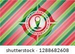 map pointer icon inside... | Shutterstock .eps vector #1288682608