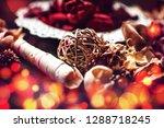 decoration objects bokeh   Shutterstock . vector #1288718245