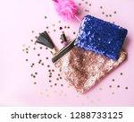 bright composition of fashion... | Shutterstock . vector #1288733125