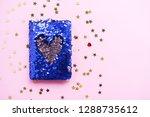 bright composition of fashion... | Shutterstock . vector #1288735612
